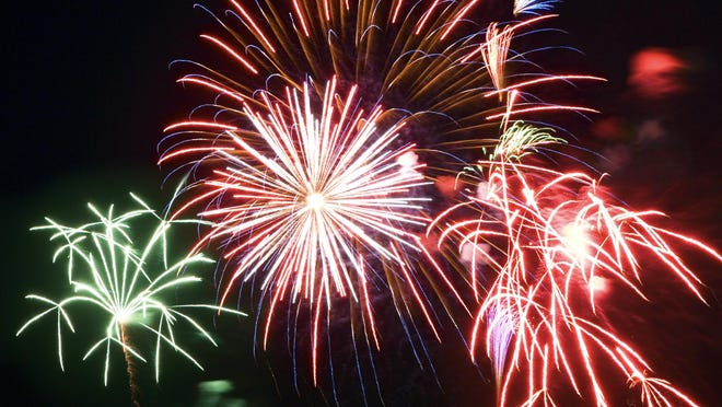 Fireworks are prohibited on all federal and state public lands.