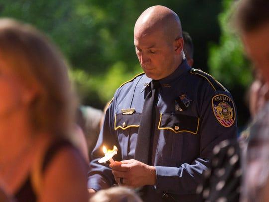 A Livingston Parrish sheriff's deputy participates