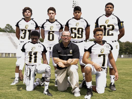 Church Point's returning starters on defense include