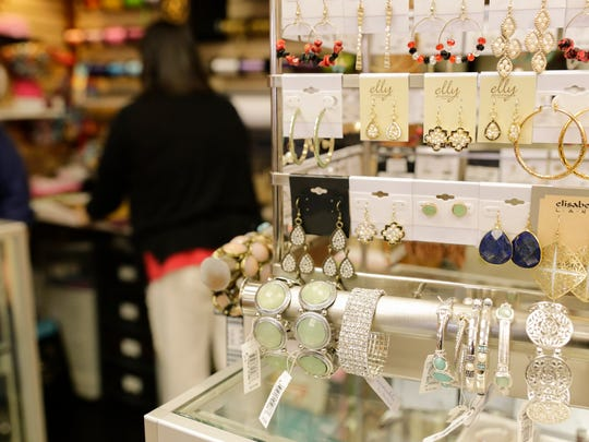 Jewelry on display at the Towne Pharmacy in Broussard