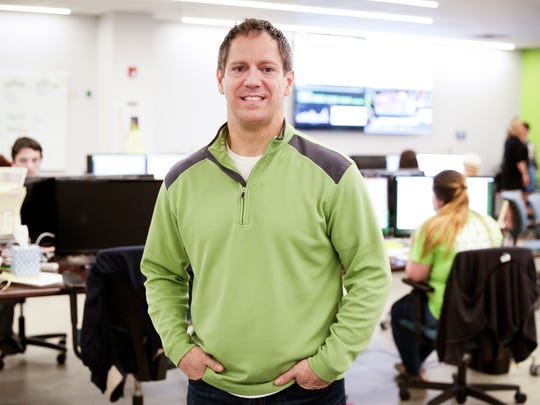 Waitr founder Chris Meaux at the company's headquarters