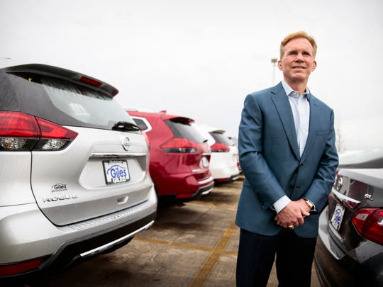 Bob Giles at Giles Automotive in Lafayette Thursday, March 30, 2017.