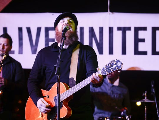 Marc Broussard entertains Oct. 20 at Downtown Alive!