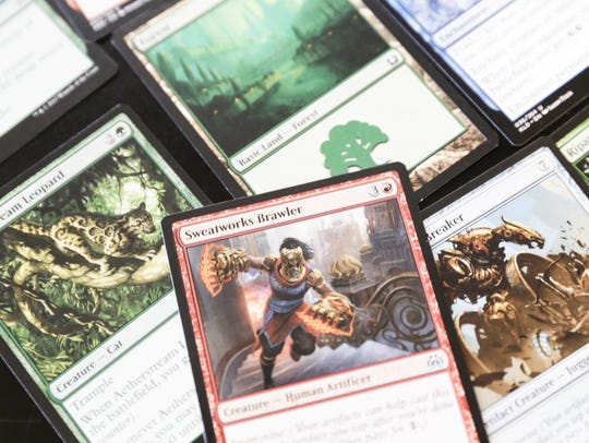 An open tournament for players of Magic: The Gathering