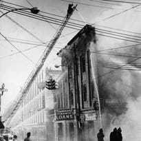 In freezing weather, 88 firefighters fought 1962 blaze that gutted Staunton building