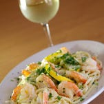 Shrimp scampi is one of the specialties at at Viva Roma New York Style Italian Ristorante in Palm Bay.
