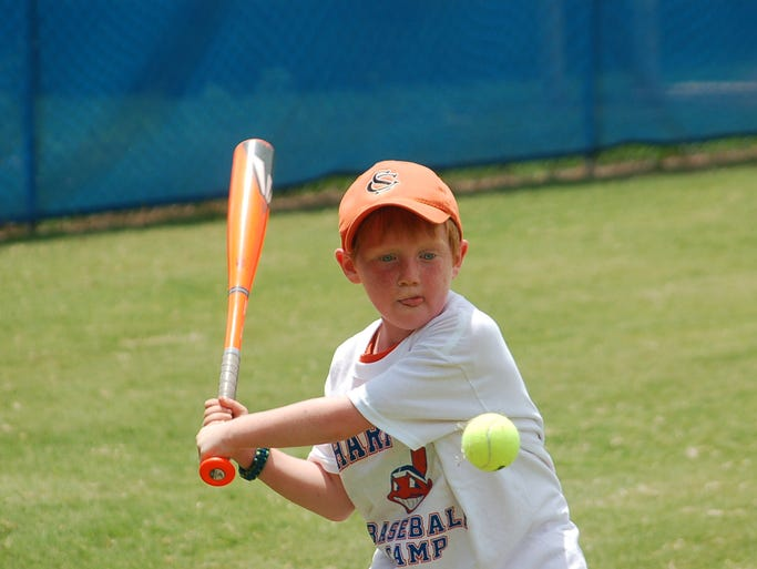Harpeth Youth Baseball Camp was held at Harpeth High School on July 15-17.