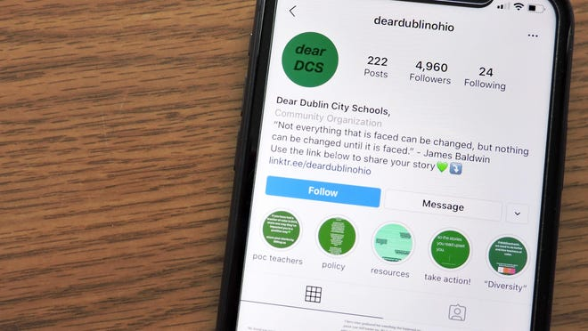 """Dear Dublin City Schools"" is one of many Instagram accounts that has surfaced recently, allowing students to anonymously submit their experiences with racism in their schools."
