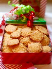 Crispy Cheese Southern Cheese Crackers are ready for a party.