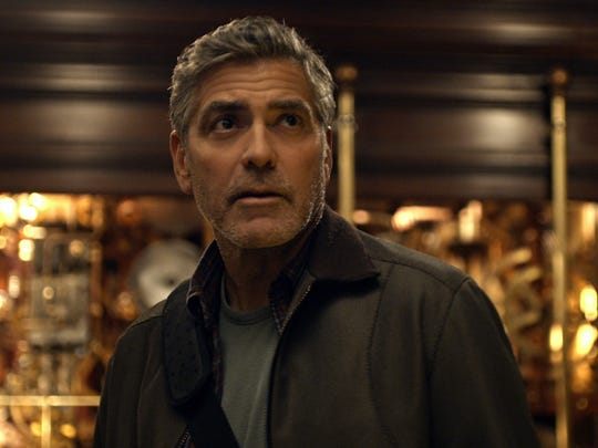 George Clooney stars as a reclusive genius in 'Tomorrowland.'