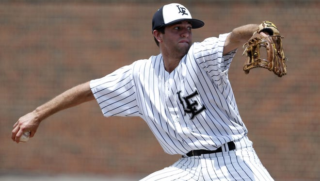 Andy Almquist pitched a complete game and struck out 13 batters in Lakota East's 3-2 win over Colerain Monday.