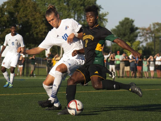 UNC Asheville vs. Vermont Men's Soccer 09/11/15