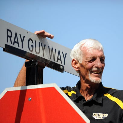 Pro Football Hall of Famer Ray Guy participates at