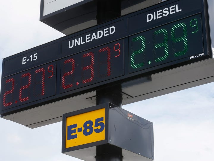 Gas prices in the Springfield are have spiked due to