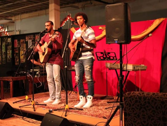 Acoustic pop duo DANDY, of Harrisburg, is made of brothers