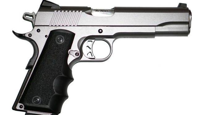 A pistol.
