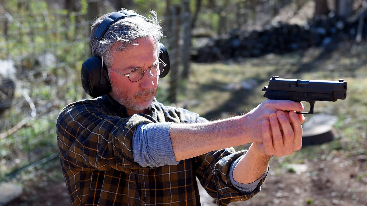 Jeff Schwaner, an editor with The News Leader, was challenged by readers to learn to shoot various firearms. So he took them up on their offer and shares his experiences.