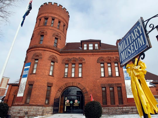 The New York State Military Museum in Saratoga Springs.