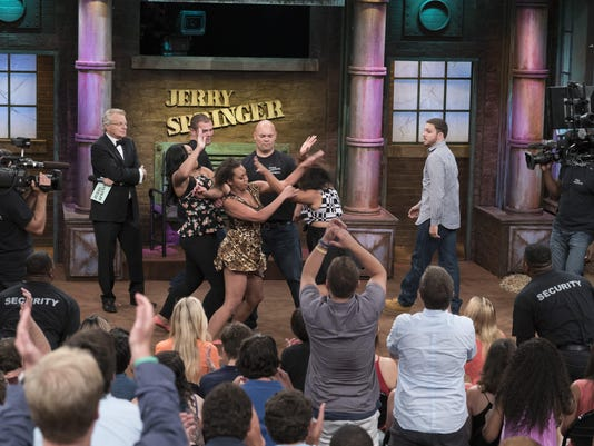 Names+Faces: Jerry Springer celebrates 25 years on air