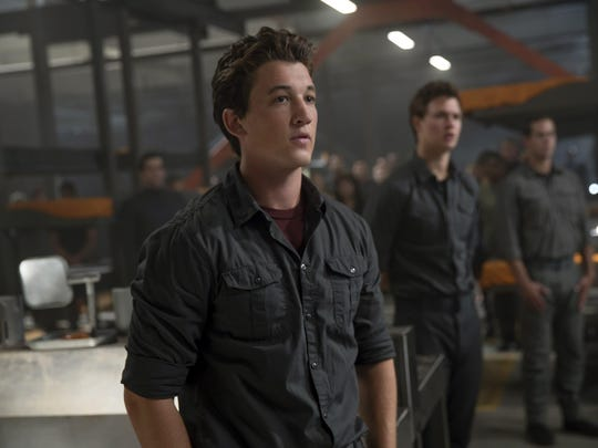 "Miles Teller is seen in ""The Divergent Series: Allegiant."""