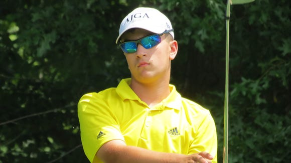Top-seeded Tyler Galantini of West Orange won the 47th New Jersey Boys Championship.