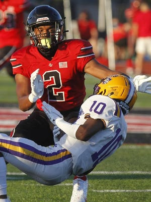 Delaney Wilburn returned a fumble 48 yards for a touchdown in Groveport's 45-14 win over Reynoldsburg on Sept. 4.