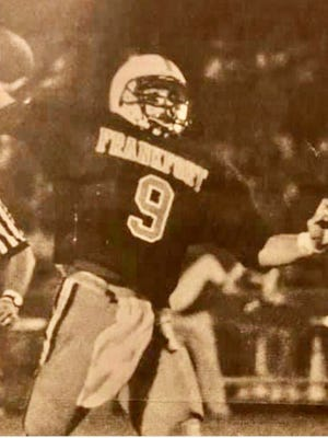 Frankfort's Grant Noel is pictured in this News Tribune clipping in 1996.