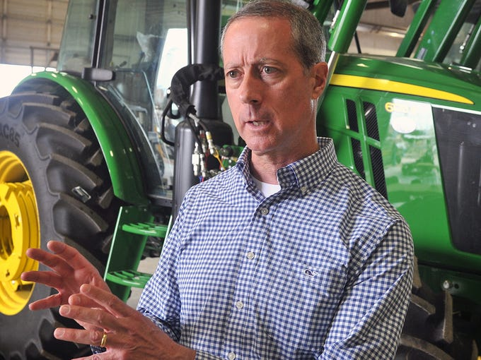 U.S. Rep. Mac Thornberry met with area farmers and