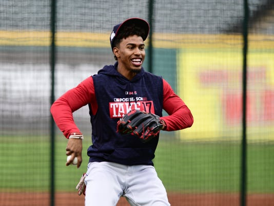 AP ALDS INDIANS BASEBALL S BBA USA OH