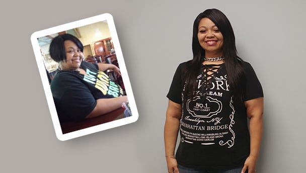 After giving birth to her beautiful twin boys in 2011, Andrea knew it was time to take control of her weight.