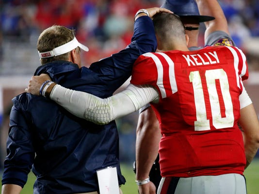 Hugh Freeze,Chad Kelly