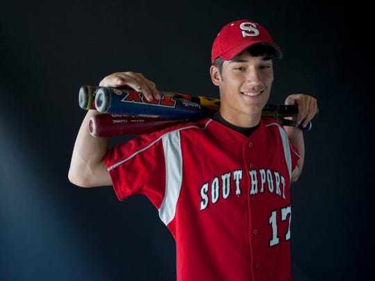 FILE - IndyStar Super Team Player of the Year Cameron Perkins in 2009 out of Southport.