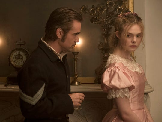 In 'The Beguiled,' Colin Farrell plays a recovering