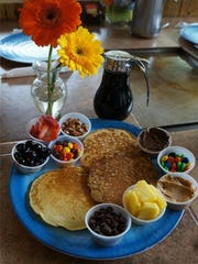 Pfunky Griddle's blinged-out pancakes are an eat-while-you're-there