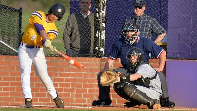 Smyrna center fielder Nathan Sanders hit .276 for the Bulldogs last season.