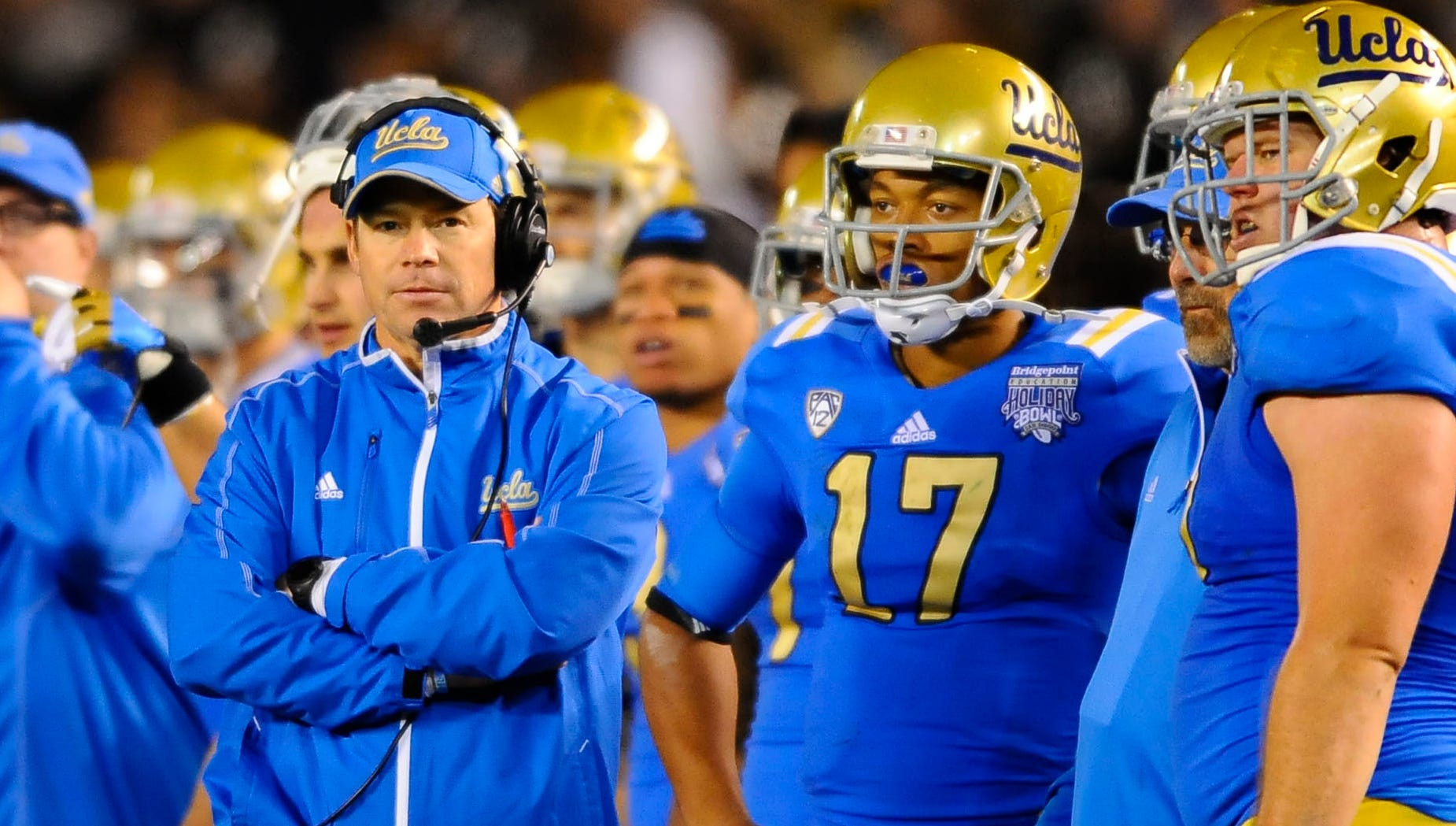 30. UCLA: Jim Mora led the Bruins to the Pac-12 South Division title, upending USC in the process, marking his debut campaign a nearly unqualified success. With key returners and recruits, the next step is moving past the rival Trojans.