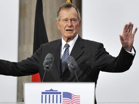 FILES-George H.W. Bush 2008