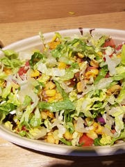 The burrito bowl is a good option for a bigger meal.