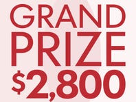 Grand Prize $2,800