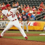 Relief pitcher Seth Maness is one of 15 former Springfield Cardinals on St. Louis' NLCS roster.