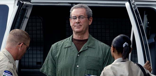 R. Allen Stanford in custody at the federal courthouse in Houston in 2010.