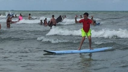 Surfers for Autism took place Saturday in Cocoa Beach.