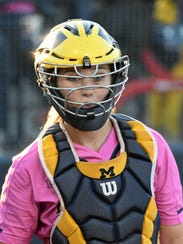"""""""Katie has established herself as a great catcher,"""""""