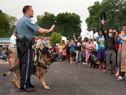 AP APTOPIX Police Shooting-Missouri