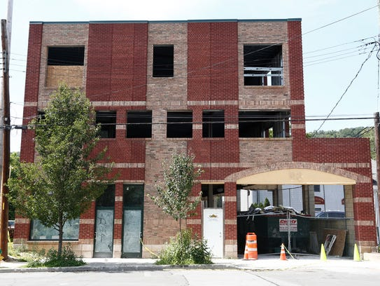 Plans are for the building at98 Washington Ave. in