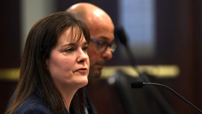 """Tennessee Education Commissioner Candice McQueen testified Wednesday before state lawmakers there that a """"cyberattack"""" may have hit state tests - which also appears to have affected testing in New York."""