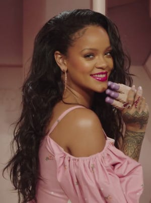 Singer Rihanna's real name is Robyn Rihanna Fenty. She is from Barbados and has expanded her career into fashion as the creative director of Puma fashion sportswear.