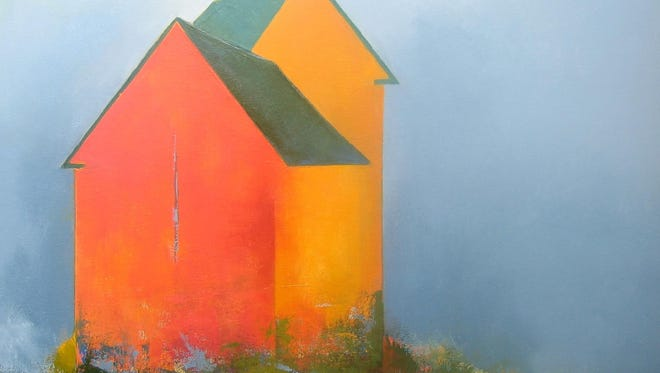 """East or West,"" oil by Michele Dangelo, part of Exhibit IV opening July 16 at Edgewood Orchard Galleries."