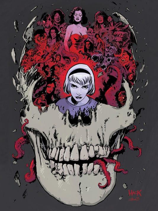 Sabrina die-cut cover