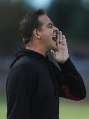 Former New Albany head football coach was named Central's new coach at at EVSC board meeting Monday night.